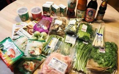 จ่ายตลาดเข้าครัวไทยในนอร์เวย์