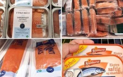 ปลาแซลมอนนอร์เวย์