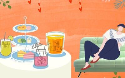 บูสต์อารมณ์ช่วงล็อคดาวน์ ด้วย 3 เครื่องดื่มสีพาสเทล ทำกินเองได้ง่ายๆ ที่บ้าน